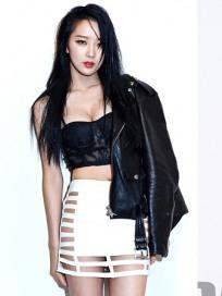 달샤벳 수빈 수위 높은 화보 공개, '팬티가...헉'