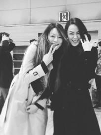 차지연-김윤아 의외의 친분 인증…'레베카' 관람 인증샷