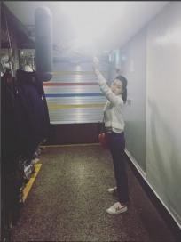 '불어라 미풍아' 손호준이 사랑하는 임지연…'장고와 미풍이' 촬영장 모습 공개