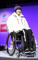 [포토] 또 다른 평창 영웅, 동계패럴림픽 국가대표 서보라미 선수의 워킹 '든든'