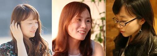 제62회 현대문학상 수상자인 김금희·임승유·장은정(왼쪽부터). /사진=현대문학사 제공