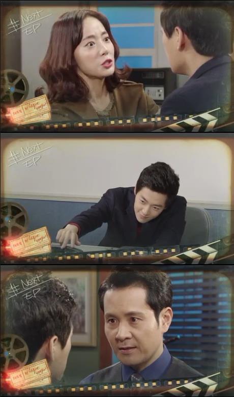 1일 아침 방송되는 KBS2 TV 소설 '저 하늘이 태양이'에서는 차민우(노영학)이 승준(김민호)를 납치한 뒤 강인경(운아정)에게 발뺌하는 장면이 그려진다./사진=KBS2 영상 캡처