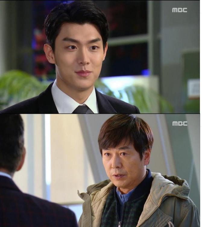 1일 방송되는 MBC 일일극 '언제나 봄날' 24회에서는 구현준(박정욱)이 강덕상(이정길)의 일로 친아들인 주면식(선우재덕)을 찾아가는 장면이 그려진다./사진=MBC 방송 캡처