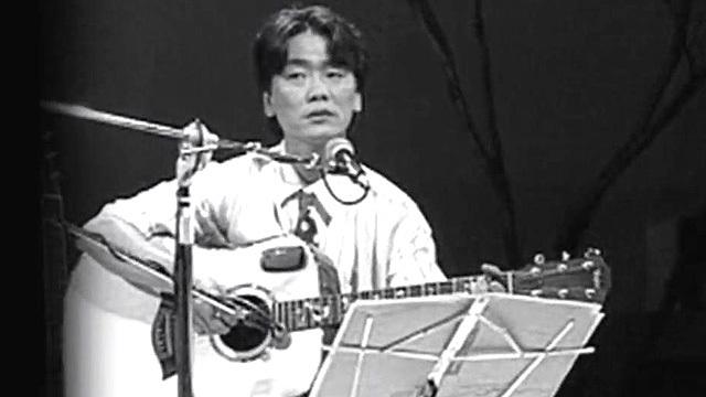 '영원한 가객'으로 불리는 가수 김광석