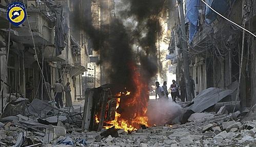 시리아 정부군이 반군 주둔지인 알레포를 제압하는데 성공했지만 내전은 종식되지 않고 있다 / 사진=AP 뉴시스