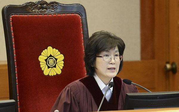 이정미 헌법재판소장 권한대행/ 사진=뉴시스