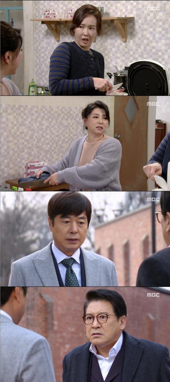 13일 방송된 MBC 일일드라마 '언제나 봄날'에서 이미선(장희수)은 눈물로 참회한 뒤 박종심(최수린)과 한 집 살이를 시작했다./사진=MBC 방송 캡처