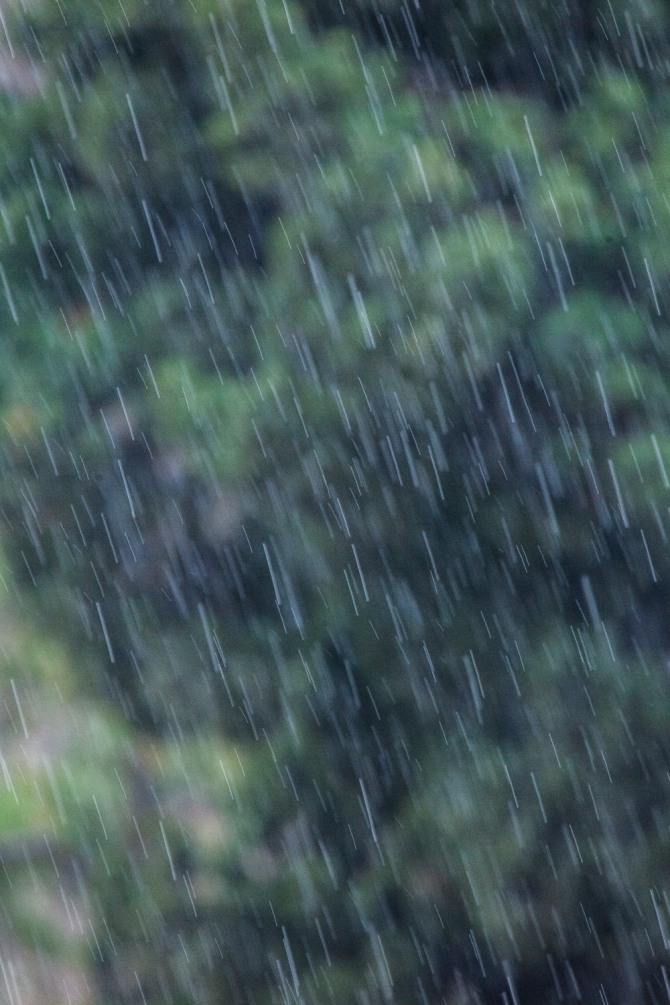기상청은 광복절을 하루 앞둔 월요일인 14일은  서해상에서 다가오는 저기압의 영향으로 전국이 흐리고 비가 오면서  기승을 부리던 무더위가 한풀 꺾일 것으로 예보했다.  /사진=글로벌이코노믹
