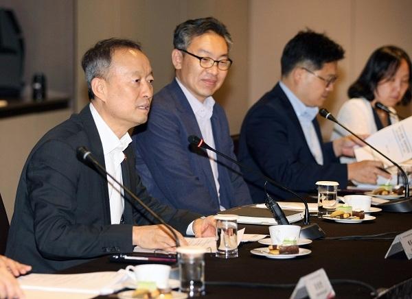 지난달 30일 열린 ASEM 경제장관회의 자문단 회의.