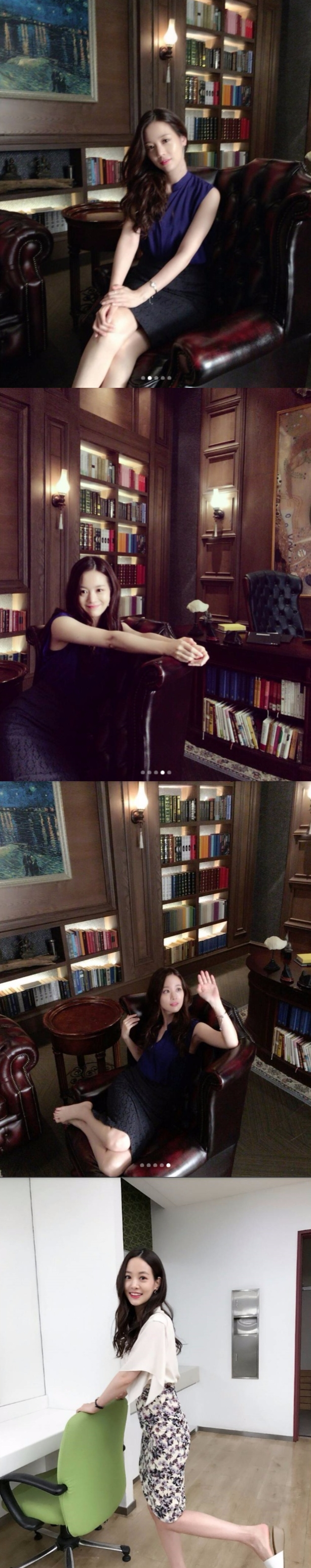 SBS 주말드라마 '언니는 살아있다'에서 구세경으로 열연중인 손여은이 13일 SNS에 비하인드 컷을 방출해 극 전개에 대한 궁금증을 자아냈다. 사진=손여은 인스타그램 캡처