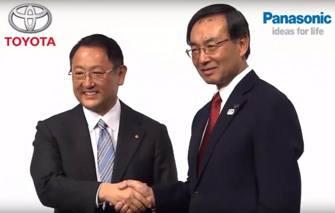 12월 13일(현지 시간) 도요타자동차와 파나소닉이 전기차용 각형 전지 사업에 대한 협력 가능성을 검토하기로 합의했다. 자료=글로벌이코노믹
