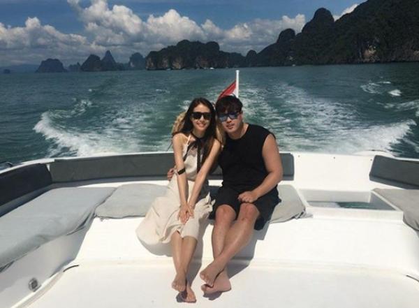 류현진과 배지현 부부가 신혼여행 사진을 공개했다. 사진=류현진 sns 캡처