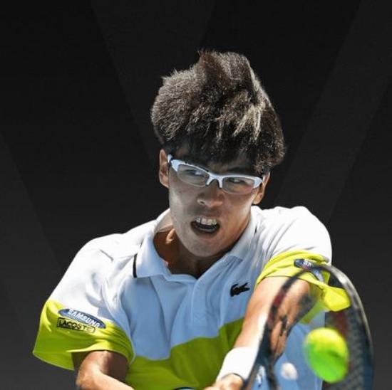 '한국 테니스의 간판' 정현이 2018 호주 오픈 1회전에서 승리하며 2회전에 진출했다. 사진=호주오픈 홈페이지 선수소개