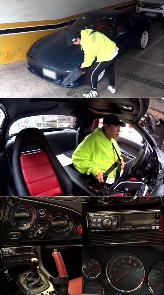'나 혼자 산다' 이시언이 새로 장만한 차를 공개한다. 사진=MBC