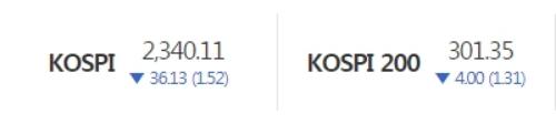 한국거래소 홈페이지 캡처
