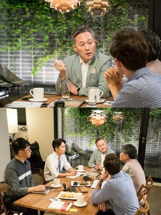 국회의원 표창원이 '대화의 희열'에 출연한다. 사진=KBS