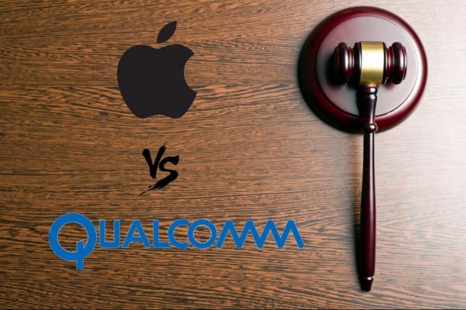 """몰렌코프 퀄컴 CEO가 FTC재판정에서 """"애플측이 자사 아이폰에 사용되는 모뎀 독점공급조건으로 먼저 10억달러를 요구했다""""고 증언했다. 이는 애플이 그동안 주장해 왔던 """"퀄컴이 시장 지배적 지위를 이용해 독점공급을 요구해 왔다""""는 주장과 배치된다.(자료=글로벌이코노믹)"""