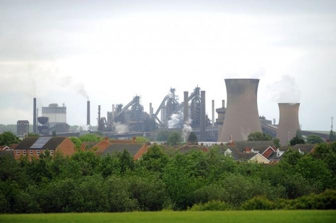 영국 스콘소프 브리티시스틸 제철소 전경. 사진=그림스비라이브