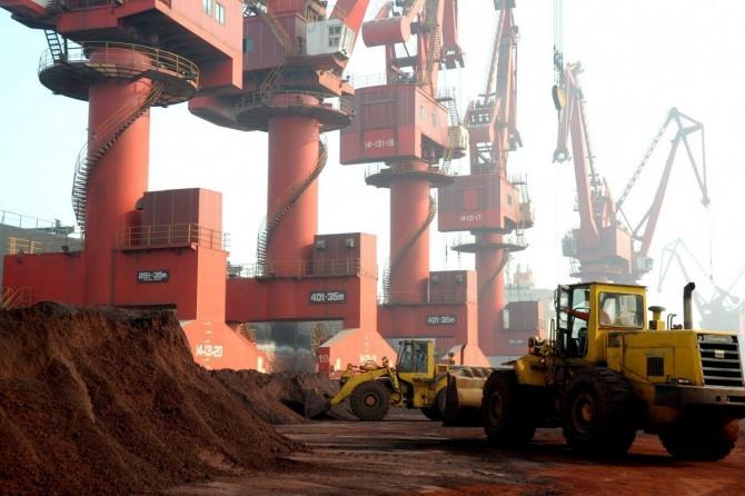 중국 저장성  북동부에 있는 렌위강시 희토류 수출항 모습.사진=SCMP