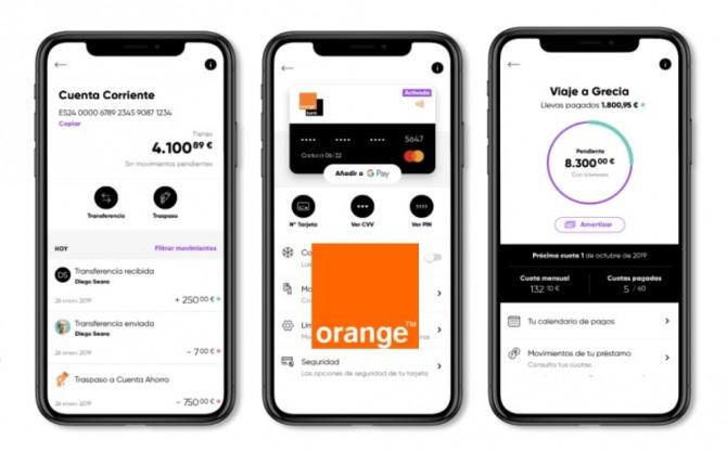 프랑스의 모바일기반 금융기업 '오랑주방크(Orange Bank)'가 스페인에 진출했다. 자료=오랑주방크
