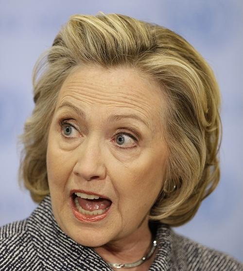 힐러리 클린턴 미국 민주당 경선후보