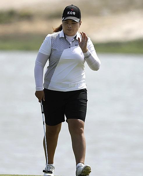 리우올림픽 여자골프에서 금메달을 차지한 '골프여제' 박인비.