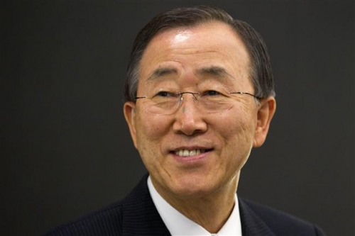 반기문 전 유엔사무총장