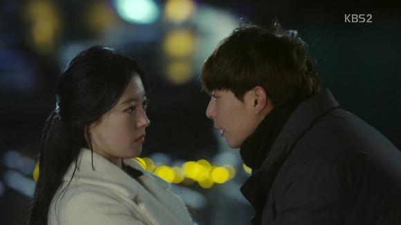 KBS주말드라마 '월계수 양복점 신사들'의 강태양-민효원 커플.