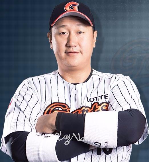 '부산갈매기' 이대호가 고향 구단인 롯데자이언츠로 복귀해 연일 맹타를 날리고 있다. 사진=구단 홈페이지