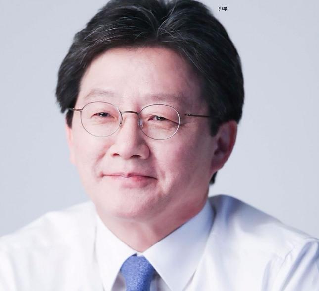 바른정당 대통령 후보 유승민.