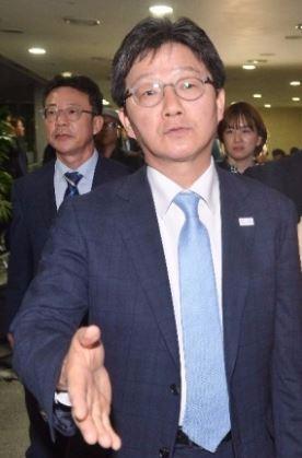 바른정당 유승민 대선후보.