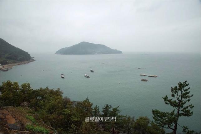 남해 해안풍경.
