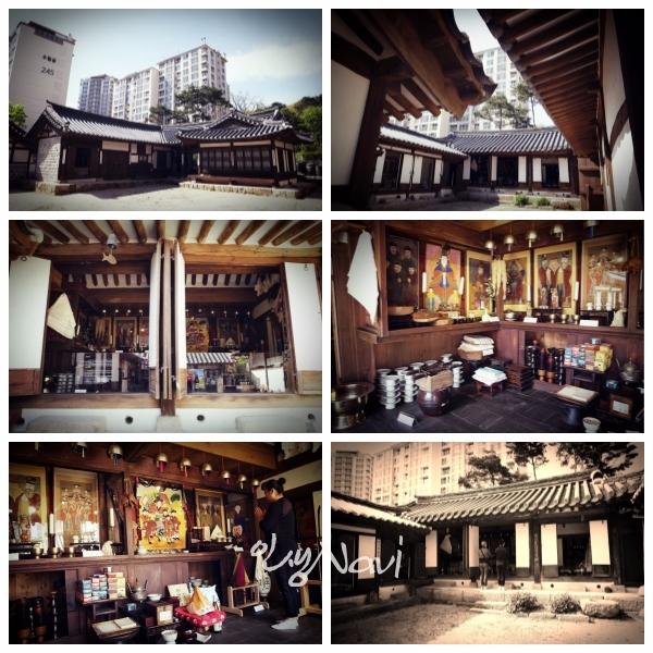 서울특별시 은평구 진관동에 있는 조선시대의 굿당. 금성당(錦城堂).
