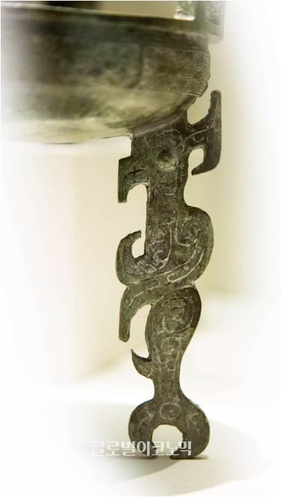 중국 서주에서 출토된 '노'(일명 세발솥), 산동박물관.