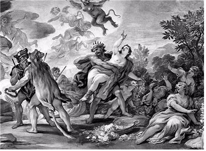 루카 지오다노, '페르세포네의 납치' 1684-1686