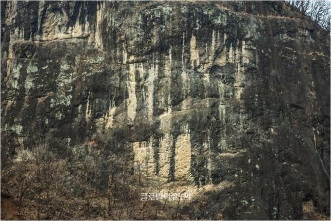 한탄강 중생대 백악기말 현무암.