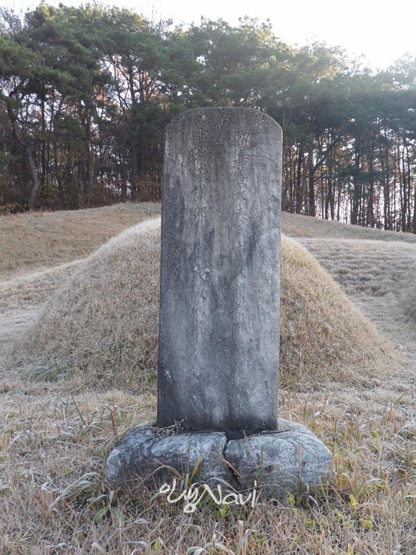 우암 송시열(尤庵 宋時烈)의 고조부(高祖父) 송세량(宋世良)의 묘