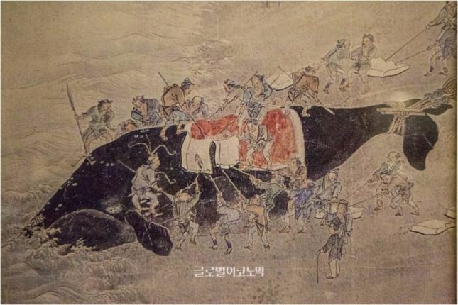 고대 포경장면, 장생포 고래박물관