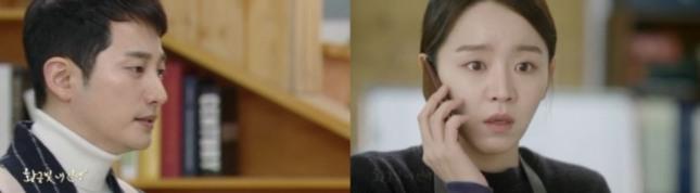 '황금빛 내 인생' 박시후(왼쪽)와 신혜선의 타로 궁합은 서로 상보적인 조합으로 잘 어울린다. 사진=KBS2 화면 캡처