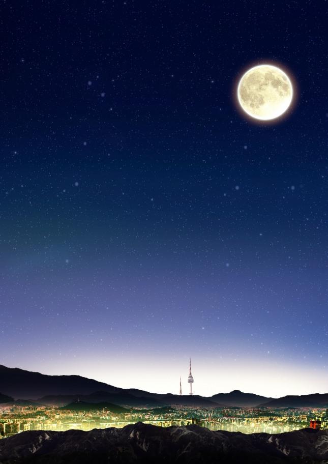 한 낮에 떠 있는 달을 바라보거나 달이 갑자기 떨어지는 꿈은 자신이나 주변사람들에게 재난이 일어날 수 있음을 암시하는 흉몽이다. 자료=글로벌이코노믹