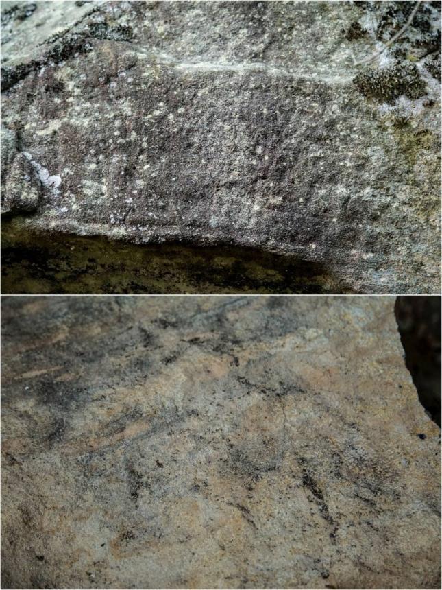경상북도 안동시 임동면 수곡리에 있는 청동기시대의 바위그림.