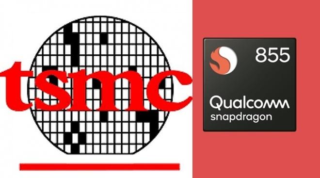 TSMC가 곧 7나노공정에서 2분기에 나올 주요 스마트폰업체 주력폰에서 사용될 스냅드래곤855칩셋 생산에 들어갈 것으로 알려졌다.