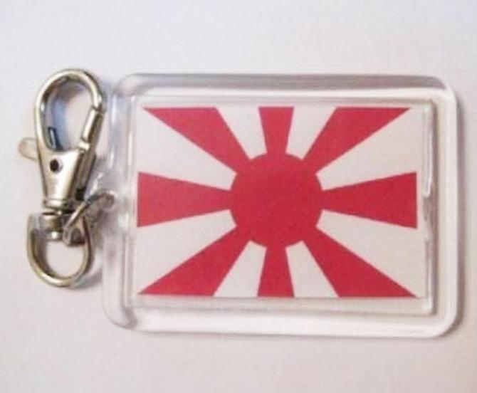 한 온라인 마켓에서 판매되는 욱일기 열쇠고리(서경덕 교수 제공)