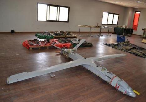 예멘 반군이 사우디와 아랍에미리트로 날려보냈다 격추된 드론.사진=유엔안전보장이사회 패널 보고서