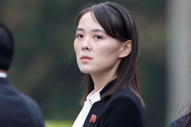 김여정 북한 노동당 제1부부장. AP/뉴시스